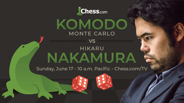 Nakamura To Play Komodo In Man-vs-Machine Chess