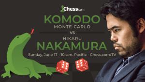 Nakamura Vai Jogar Komodo em Xadrez de Humano-vs-Máquina
