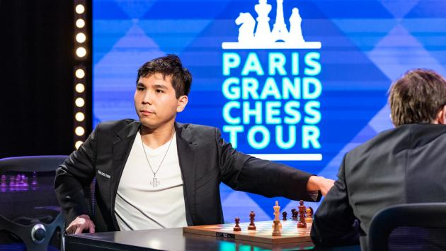 Paris Grand Chess Tour Day 2: So Takes The Lead