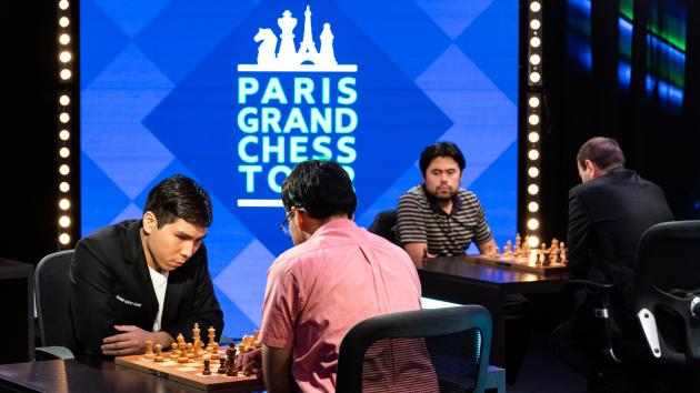 So 1st In Rapid At Paris Grand Chess Tour