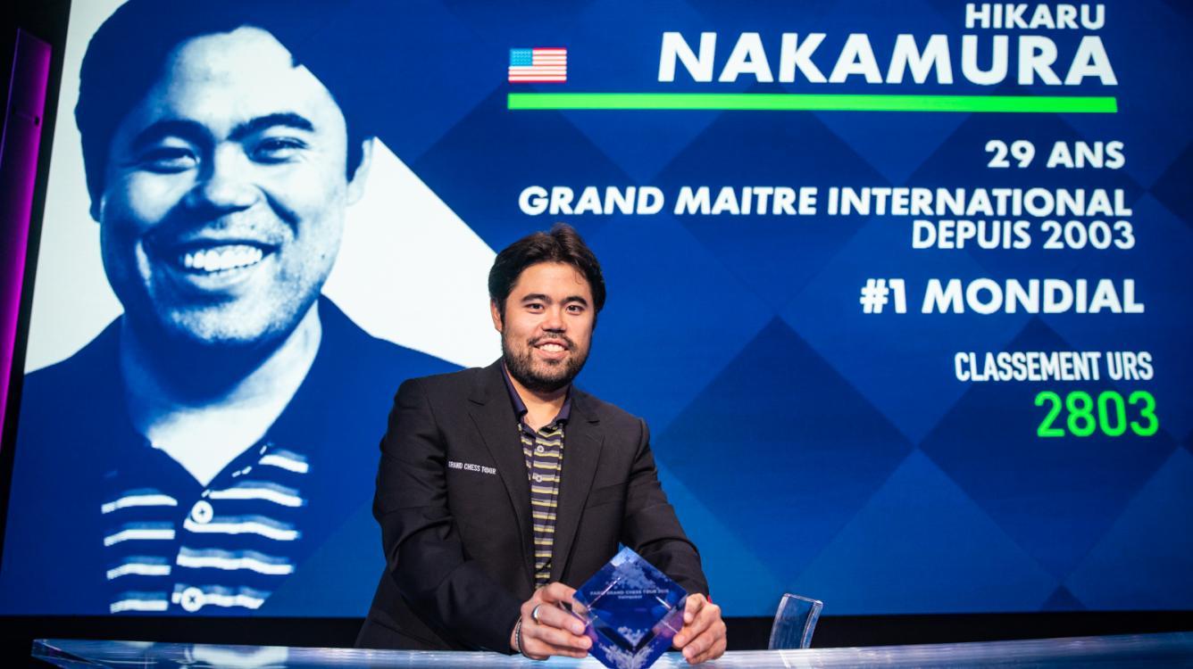 Накамура побеждает на этапе Grand Chess Tour в Париже