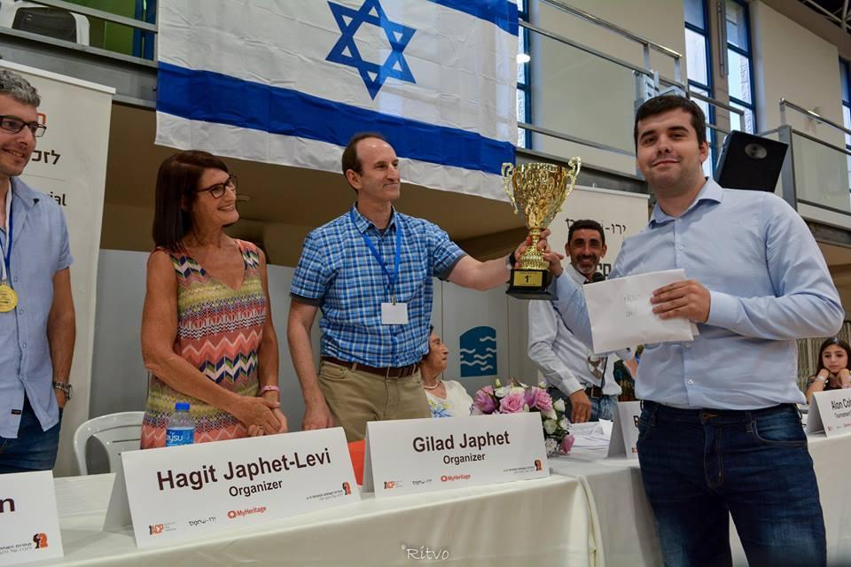 Nepomniachtchi Wins Japhet Memorial Ahead Of Svidler, Ivanchuk