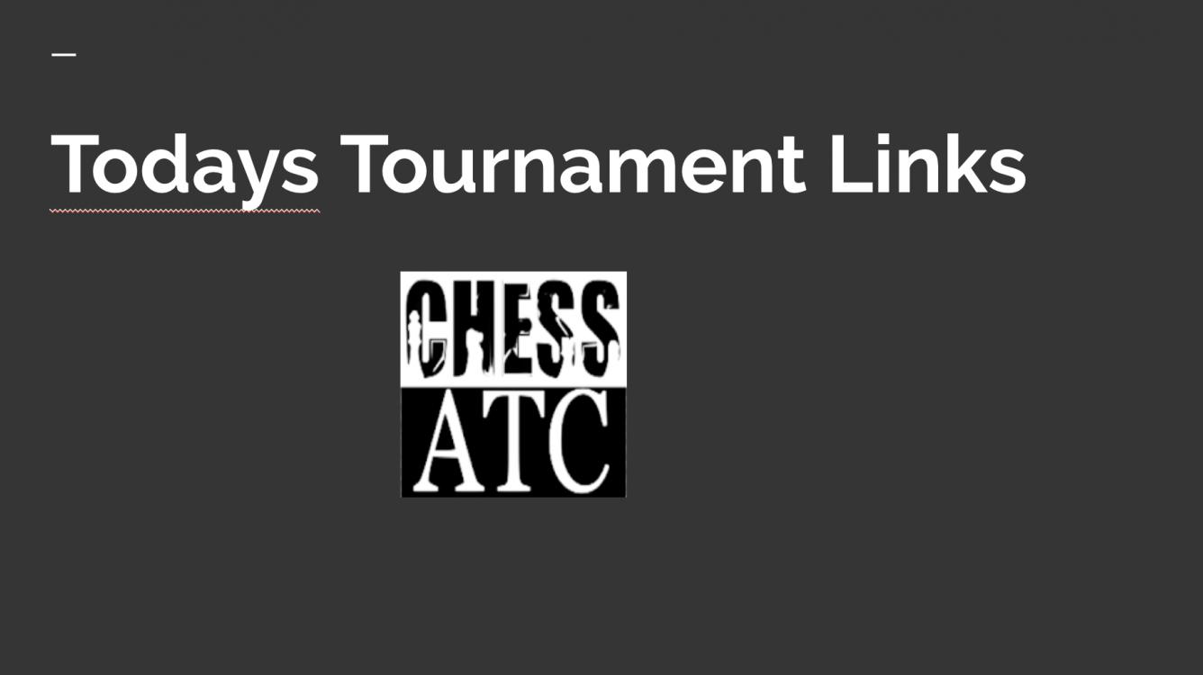 Todays Tournament Links- 10/7/18
