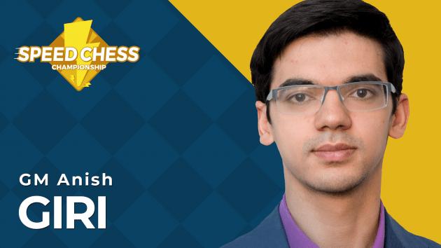 Giri Wins Speed Chess Open; Andriasyan Qualifies