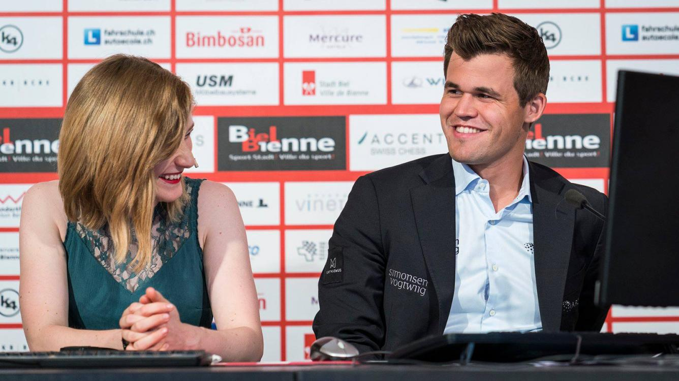 Carlsen Steals Show With Queen Sacrifice As Biel Begins
