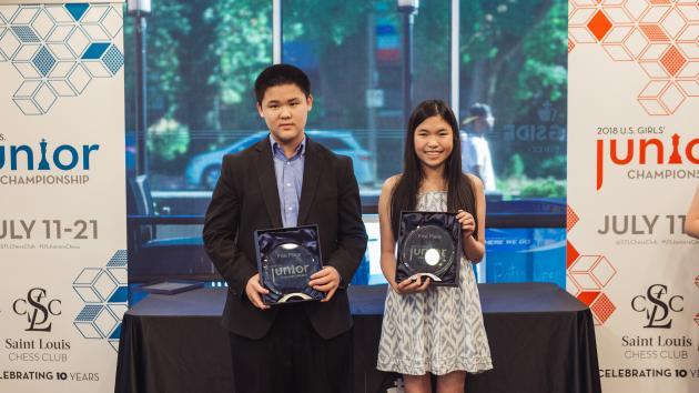 Liang Repeats At U.S. Junior Championship; Yip Wins Girls' Title