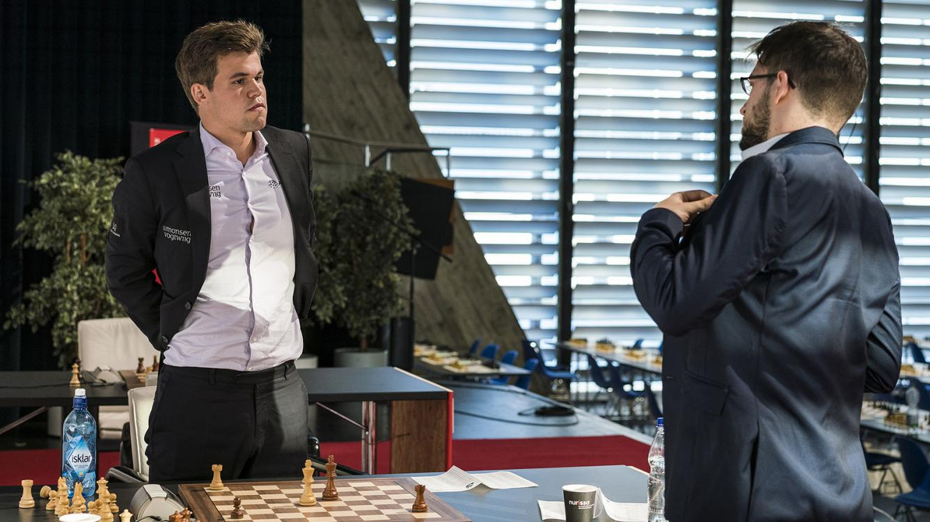 Carlsen Wins Study-Like Endgame, Moves To 2/2 In Biel