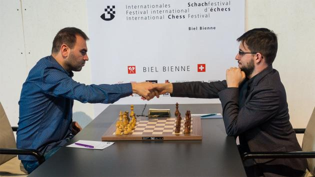 Mamedyarov Beats MVL, Catches Carlsen In Biel