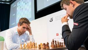 Georgiadis Sacs Exchange, Holds Carlsen In Biel