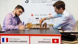 MVL Gets 1st Win In Biel As Georgiadis Misses Double Attacks