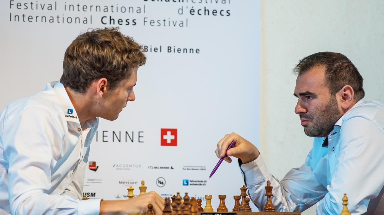 Mamedyarov Wins Again, Grabs Sole Lead In Biel