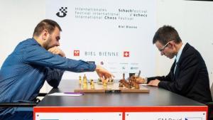Biel, Runde 7: Mamedyarov baut seine Führung aus