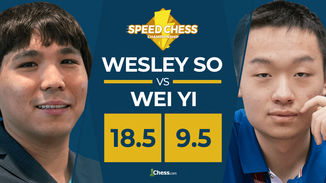 Wesley So Trounces Wei Yi In Tactical Speed Chess Match