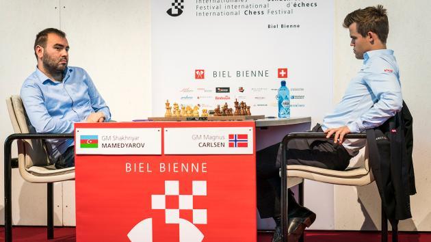 Mamedyarov Beats Carlsen, Wins Biel With Round To Spare