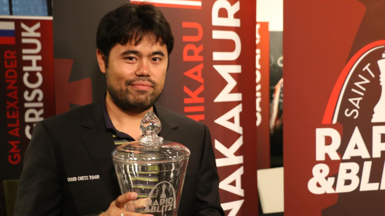 Nakamura Wins St. Louis Rapid And Blitz, Holding Off Vachier-Lagrave, Mamedyarov