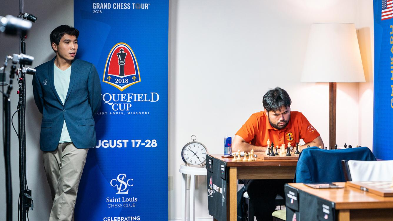 Sinquefield Cup Still Wide Open After 5 Draws