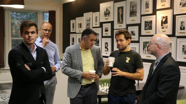 Carlsen, Caruana, Aronian Ganham Todos Títulos na Sinquefield Cup Playoff Abandonado