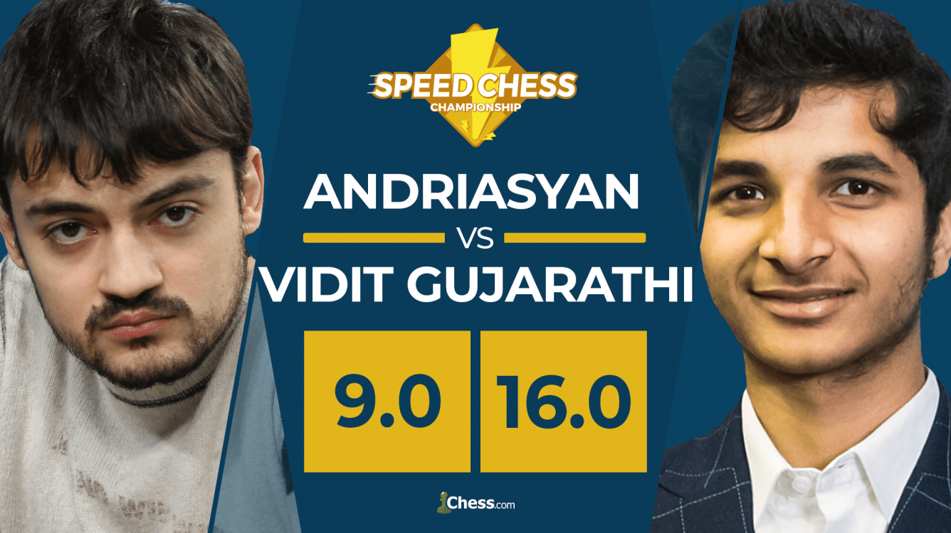 Vidit Lightning Fast In Bullet, Beats Andriasyan In Speed Chess