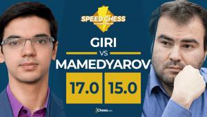 Giri vence a Mamedyarov en un emocionante Speed Chess