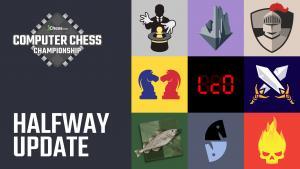 Emocionante primera vuelta del Computer Chess Championship