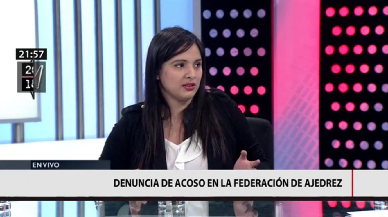 """""""Ajedrecista peruana descalificada tras acusar al capitán del equipo de acoso sexual"""""""