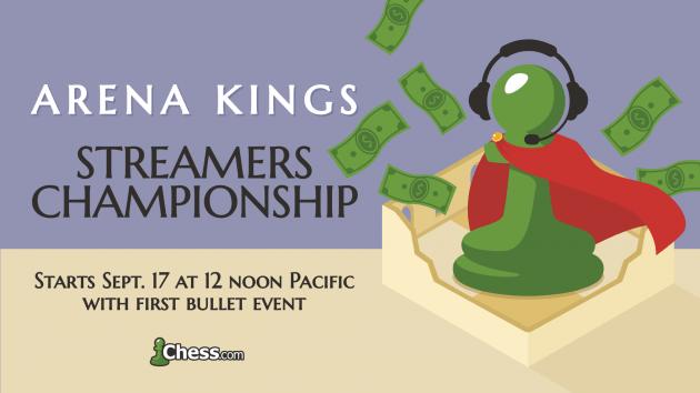 Arena Kings Streamers Championship Returns For Season 2