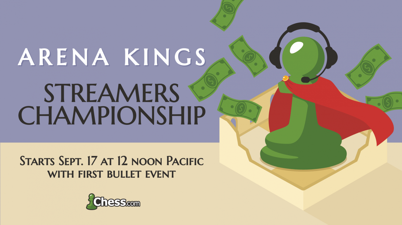 Arena Kings Streamers Championship Returns For Season 2