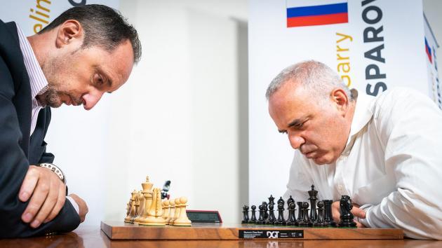 Topalov Leads Kasparov In Chess960 Match After Day 2