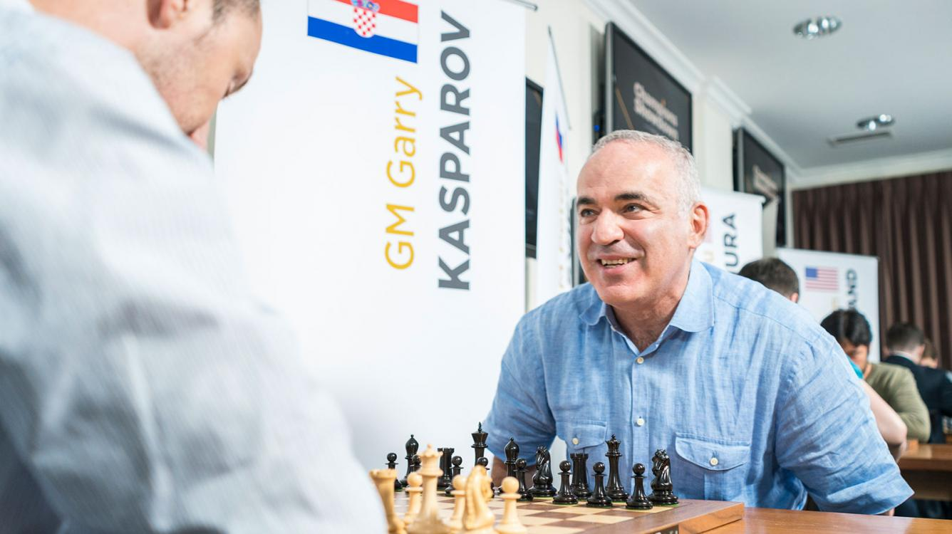 Kasparov Finishes Well But Loses Match To Topalov
