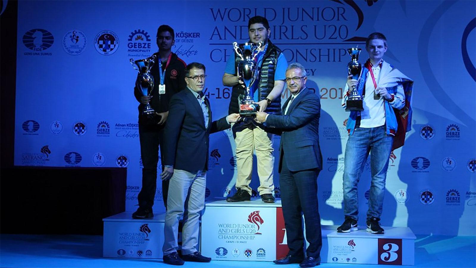 maghsoodloo wins world junior title