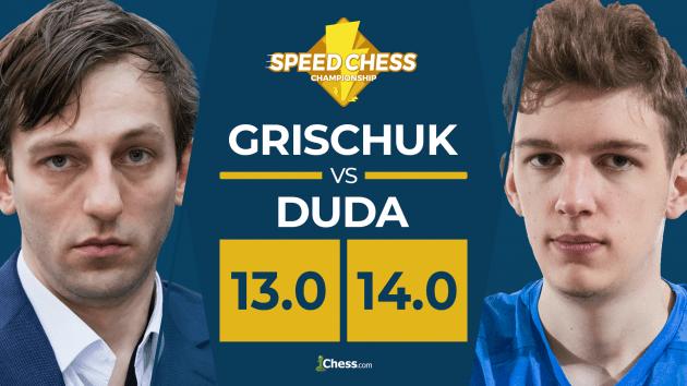 Duda Upsets Grischuk In Epic Speed Chess Match