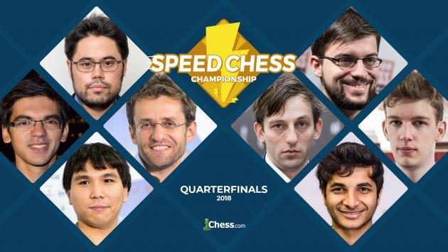 Speed Chess | Un sorprendente Duda y un rotundo Aronian pasan a semifinales