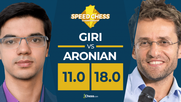 Tactics Galore As Aronian Beats Giri In Speed Chess