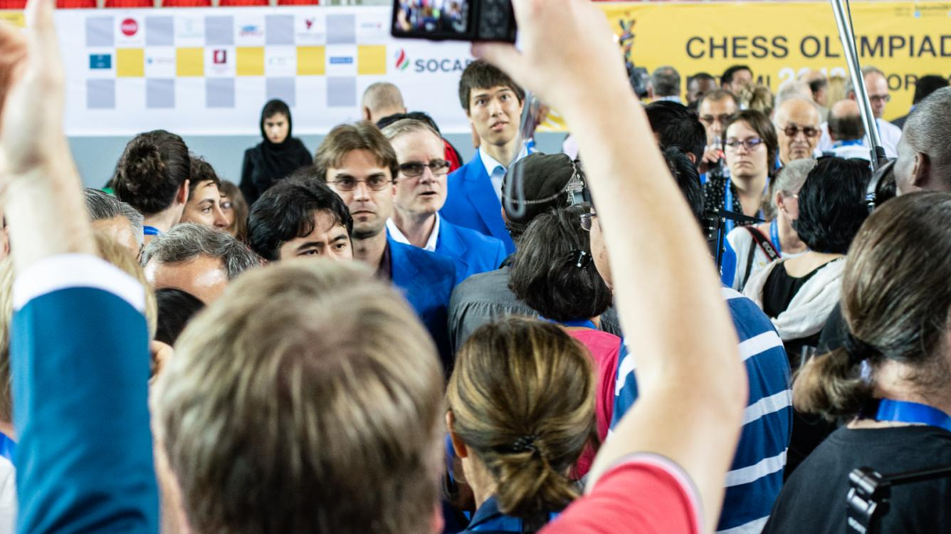 Chess Olympiad: 7 Minutes Of Tension In 1st Round