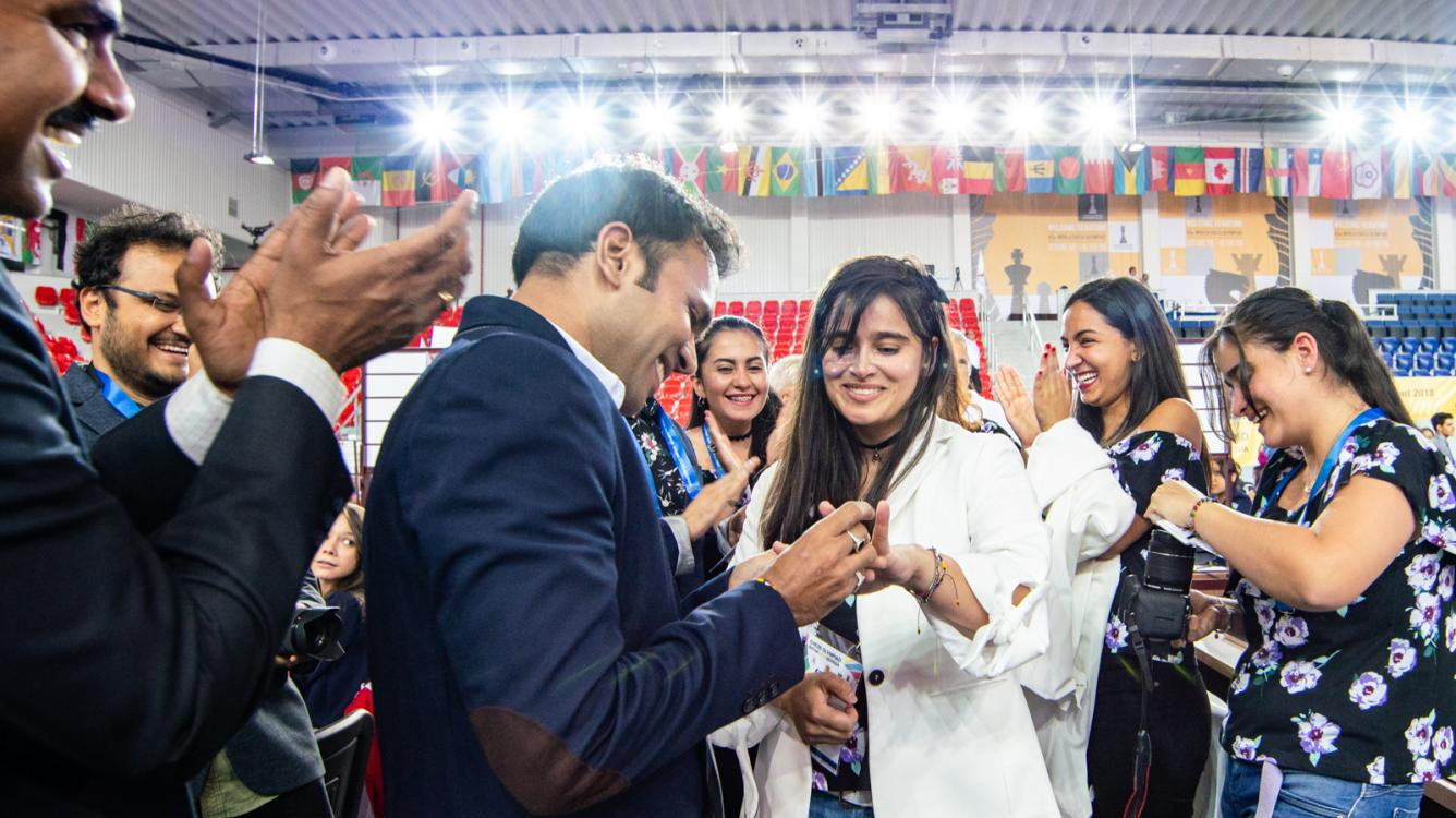 Chess Olympiad Sparked By Marriage Proposal On Day 2