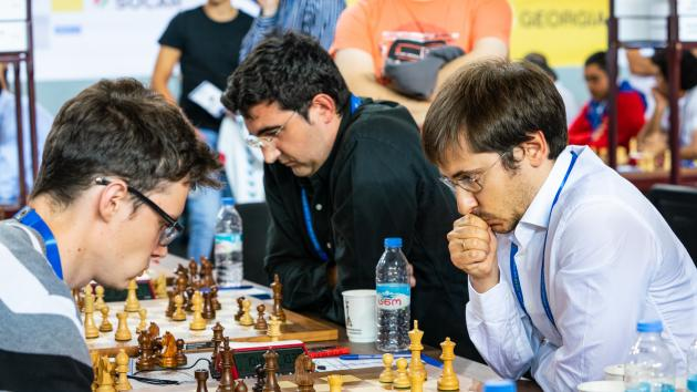 Chess Olympiad: Poland Beats Russia, Kramnik Gets Checkmated