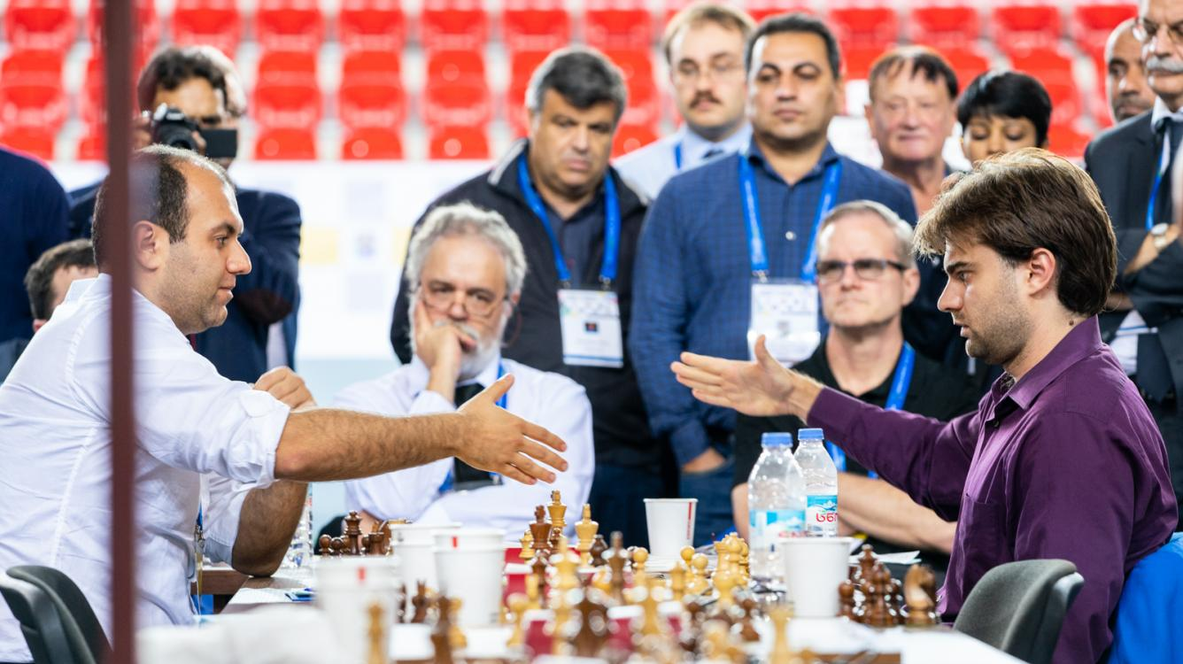 Chess Olympiad: U.S. Grabs Sole Lead In Round 8