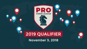 Qualifiez-vous pour la PRO Chess League 2019 !