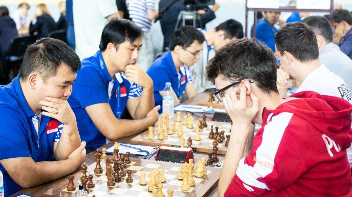 Chess Olympiad: China Ends Polish Run, Plays U.S. For Gold