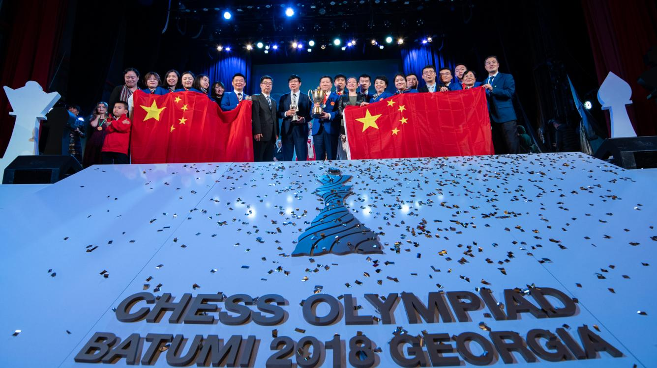 Chess Olympiad: Celebrating The Winners
