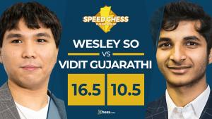 Speed Chess | So celebra su cumpleaños y vence a Vidit