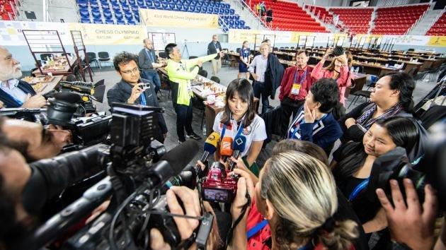 Olimpiada Szachowa: Chiny podwójnie złote