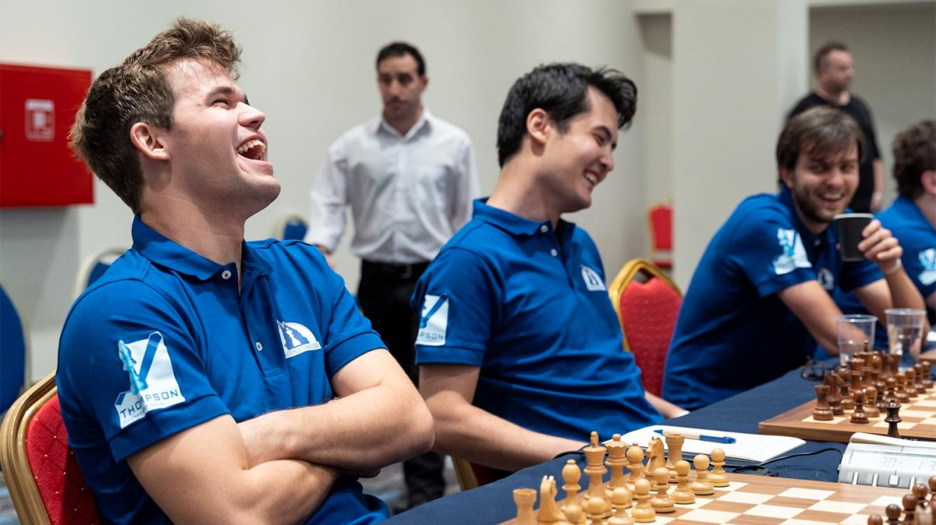 Carlsen Starts With Win At European Club Cup