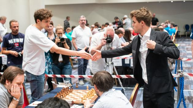 European Chess Club Cup: Carlsen 4.3 Points Ahead Of Caruana