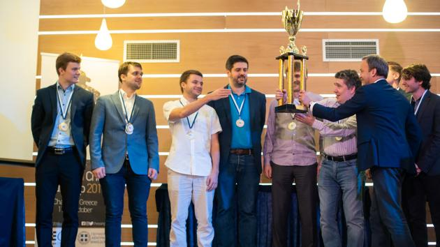 European Chess Club Cup: St Petersburg, Monaco Take Titles