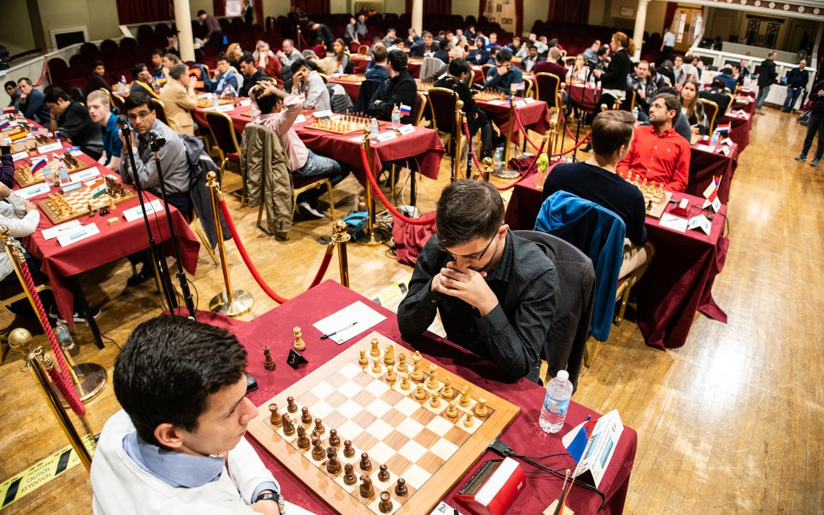 Chess.com Isle of Man: Half the 2700s Nicked for Draws in Opener