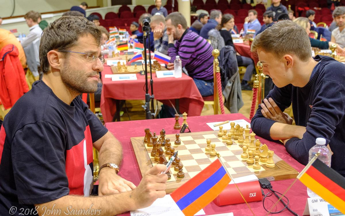 Chess.com Isle of Man: Aronian 'Bluffs' While Vidit Sacrifices Queen Again