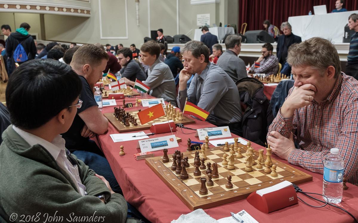 Турнир Chess.com на острове Мэн: Широв зажигает огонь на доске
