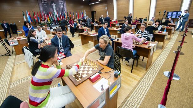 Women's World Chess Championship: Girya, Paehtz, Kashlinskaya, Zhukova Out
