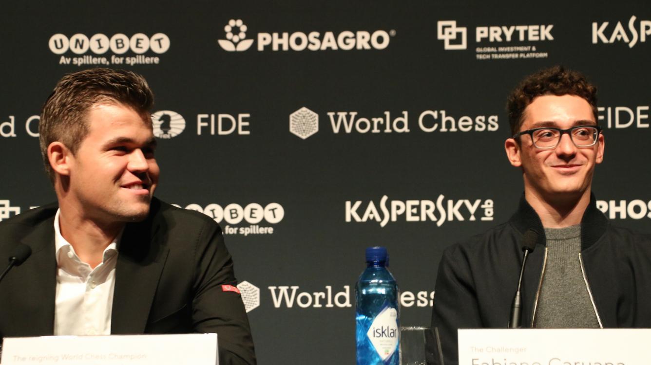 Матч на первенство мира по шахматам начинается в Лондоне: пресс-конференция